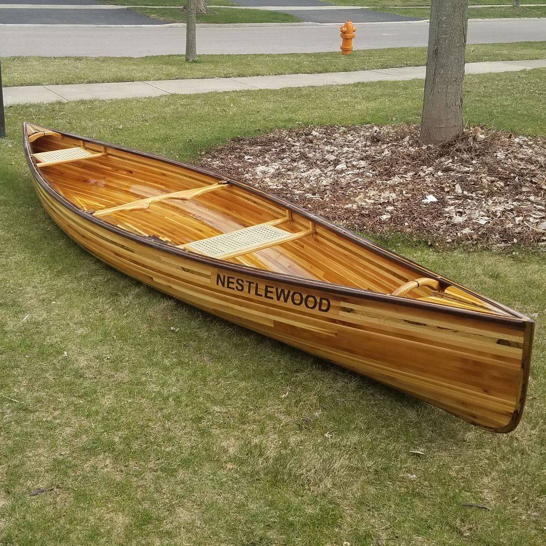Strand Caned Canoe Seats by Hank's Cane & Rush Restoration