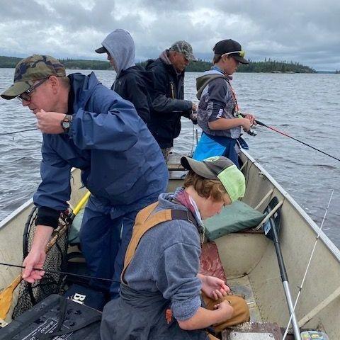 Fishing Manitoba Windsock Lodge walleye Northern Pike small mouth bass