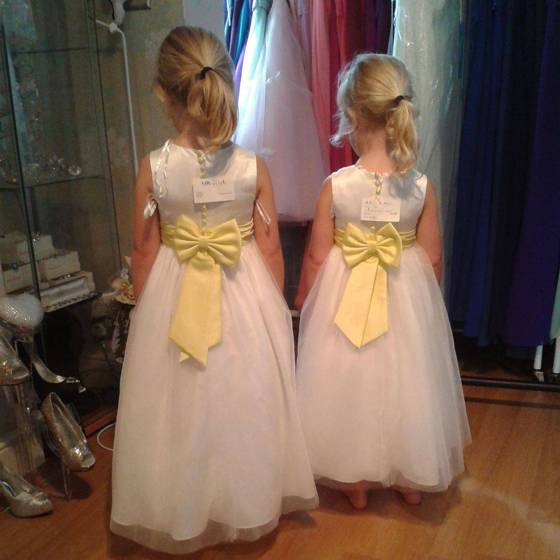 Flower girls, bridesmaids,
