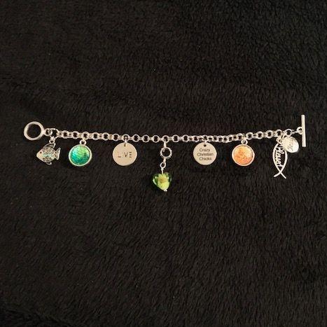 Charm, Religious, Bracelet