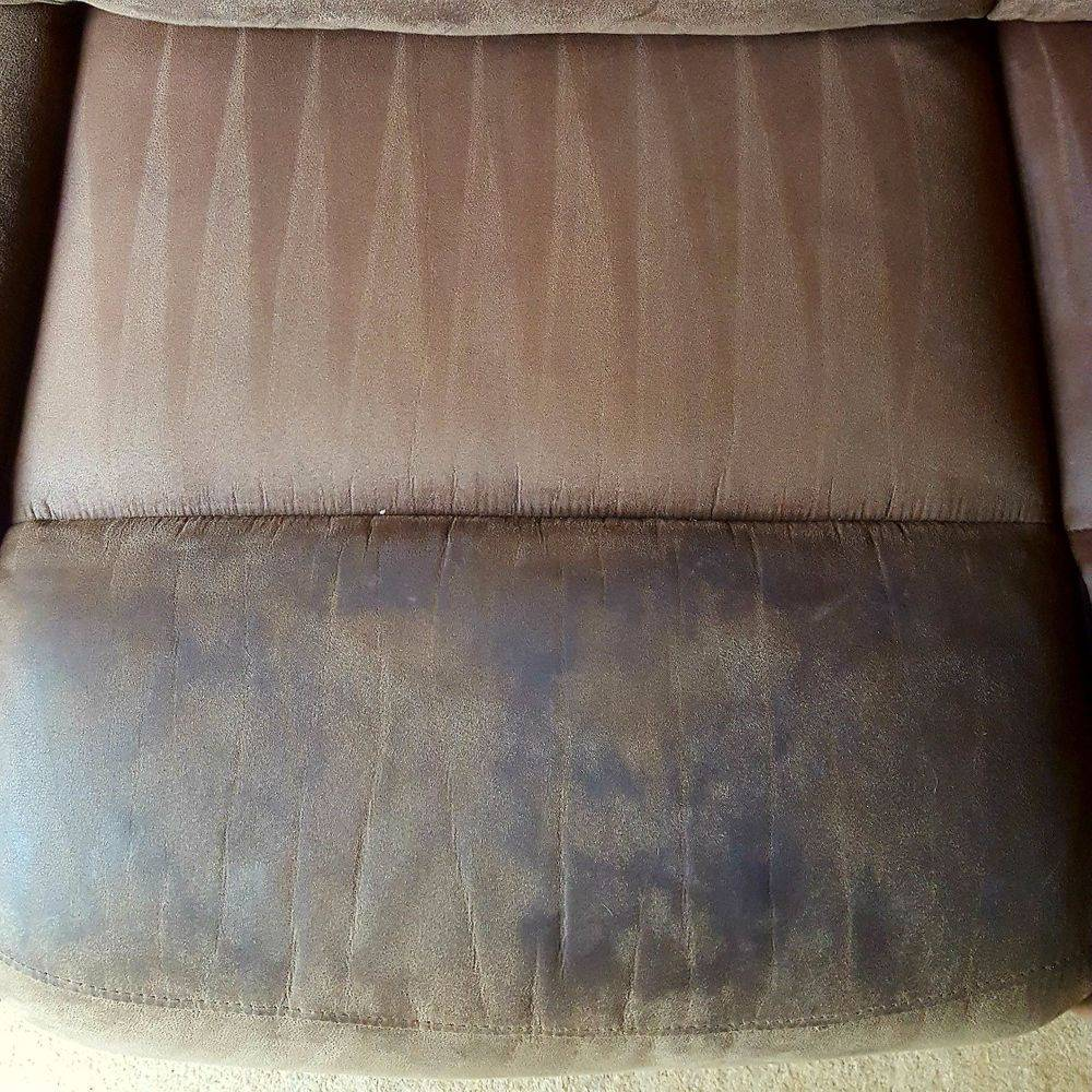 Suede Effect Sofa Cleaning