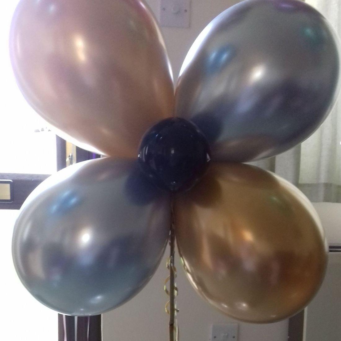 Chrome balloons
