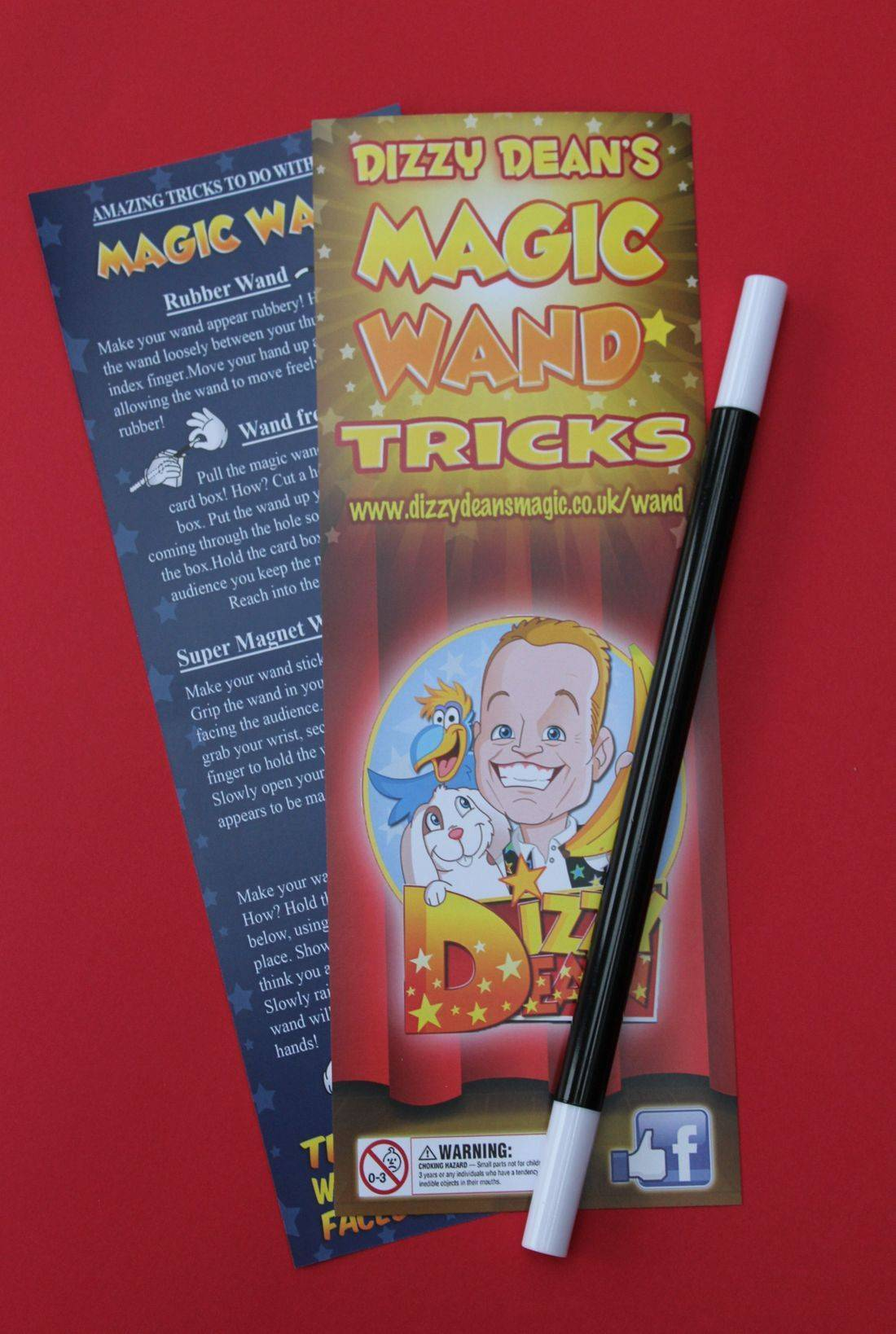 Dizzy Dean's Magic Wand Tricks