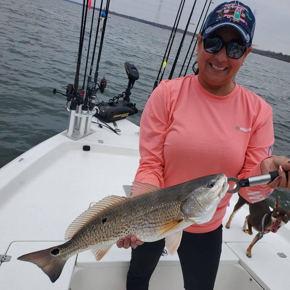 Calaveras Lake Fishing