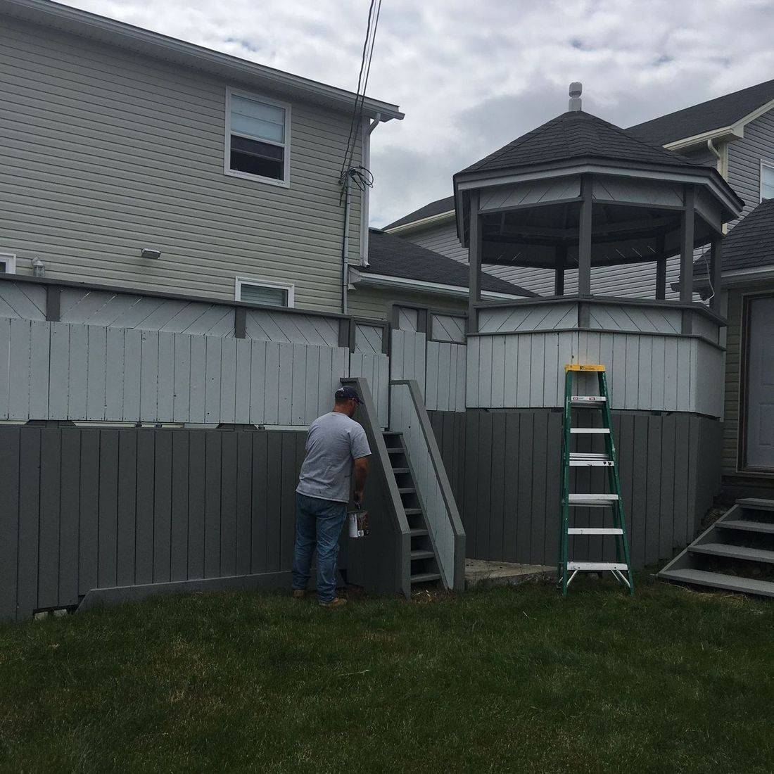 exterior painting St. John's