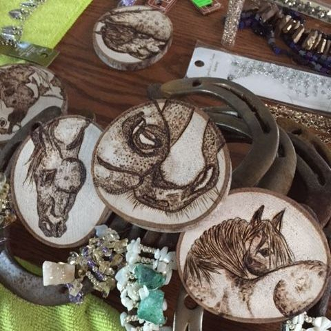 Custom Wood Burning Art Prince Edward County