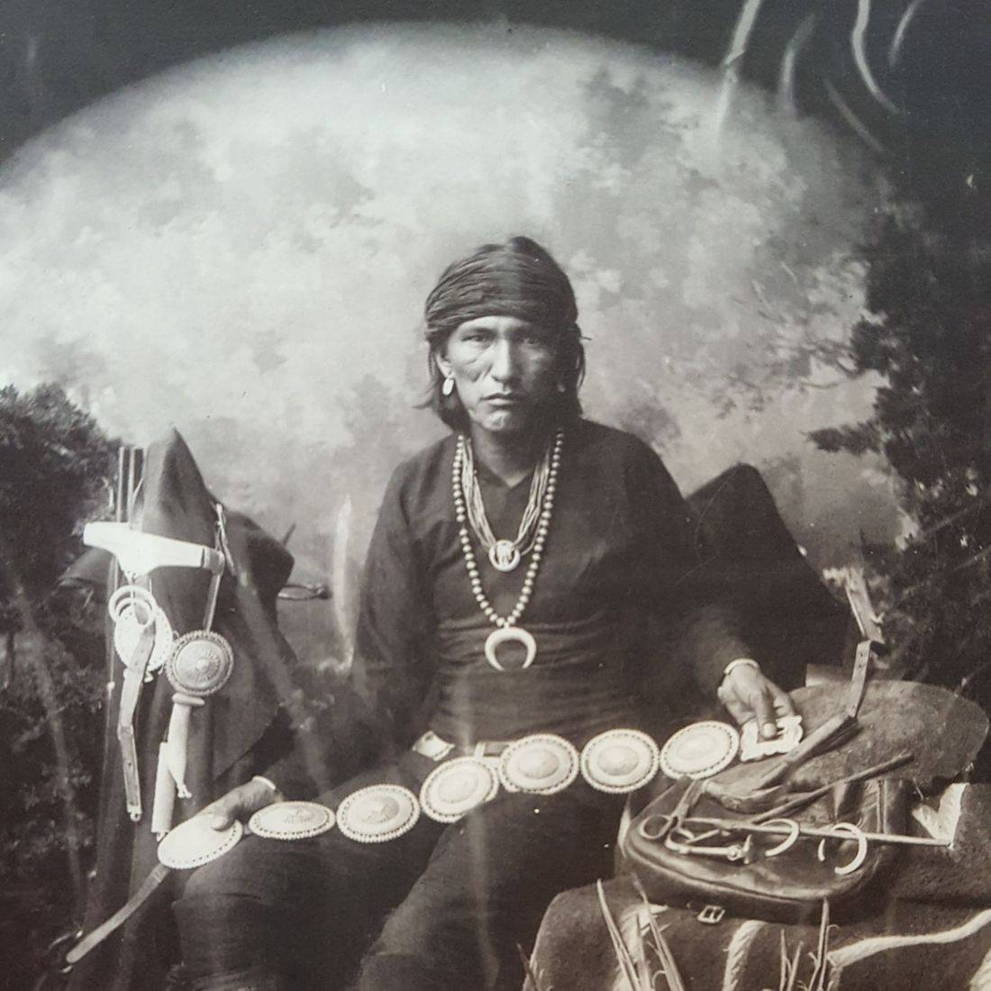 Slender Maker of Silver- Navaho's earliest Silversmith
