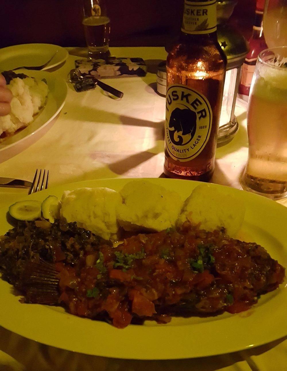 tusker beer , kisumu lakeside restaurant , kisumu international airport kenya , british & far east traders , welcome to kenya , kenya africa