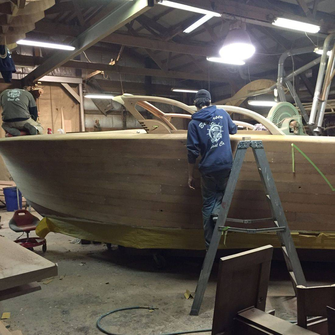 Shepherd Restoration by Bergersen Boat