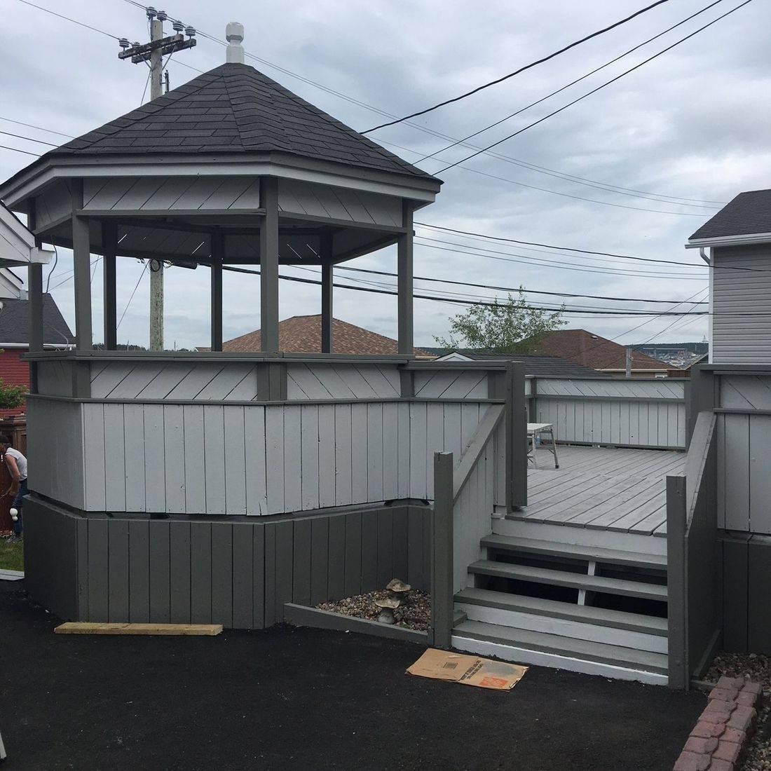 exterior painting St. John's