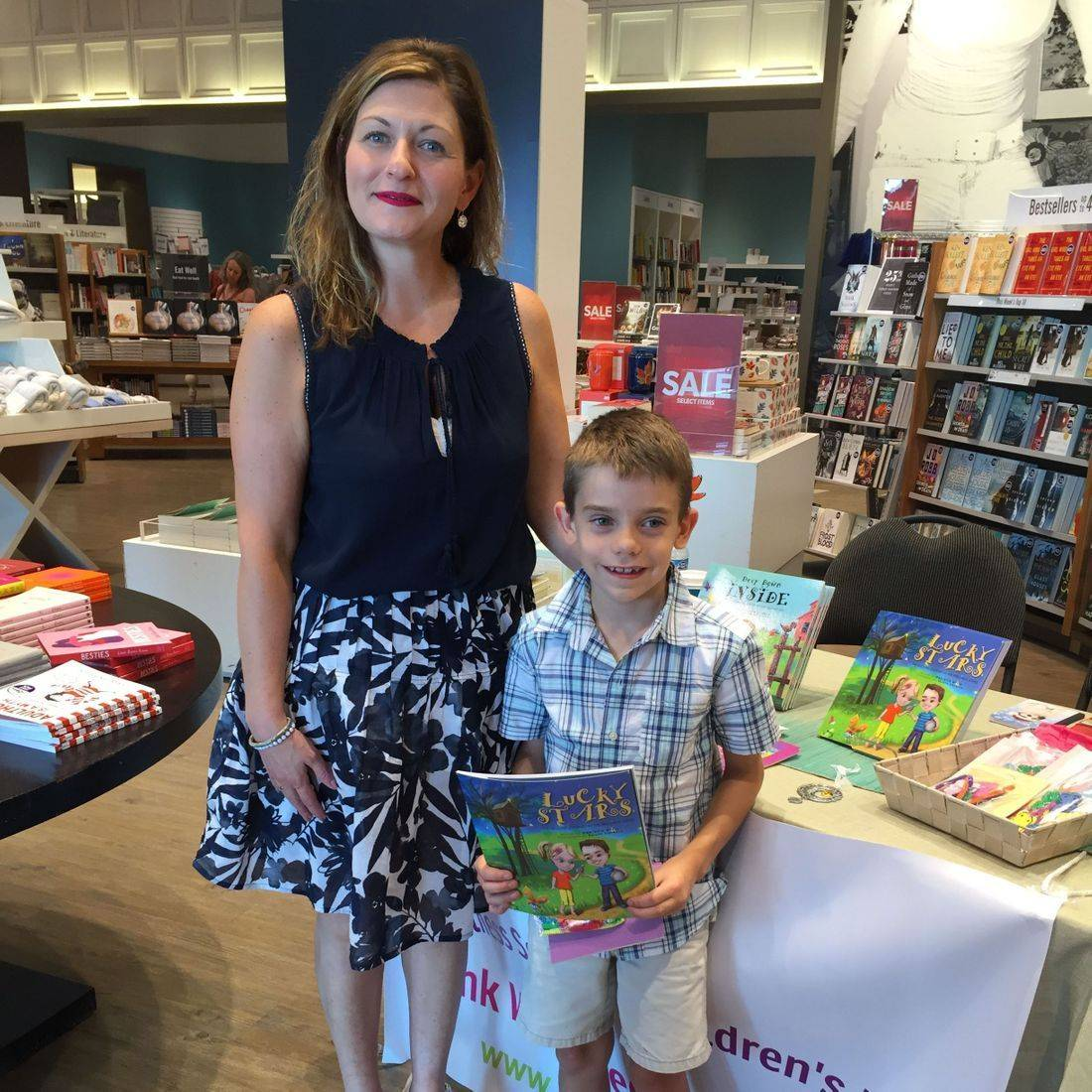 Indigo Stoney Creek September 2017 Book Signing Event for Deep Down Inside and Lucky Stars with Author Daniella Grsic