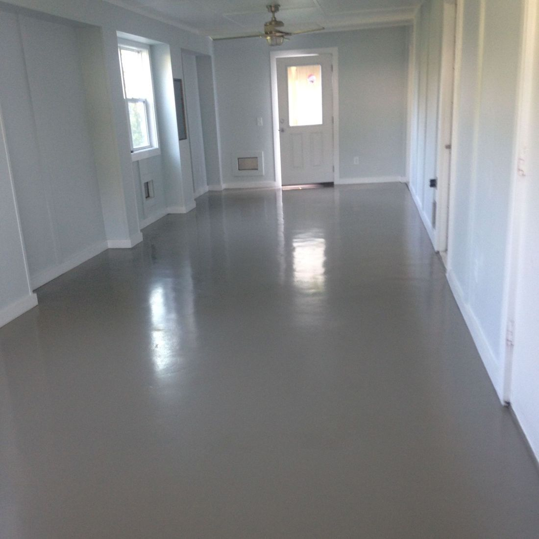 interior painting, epoxy, wilmington nc, garage floor