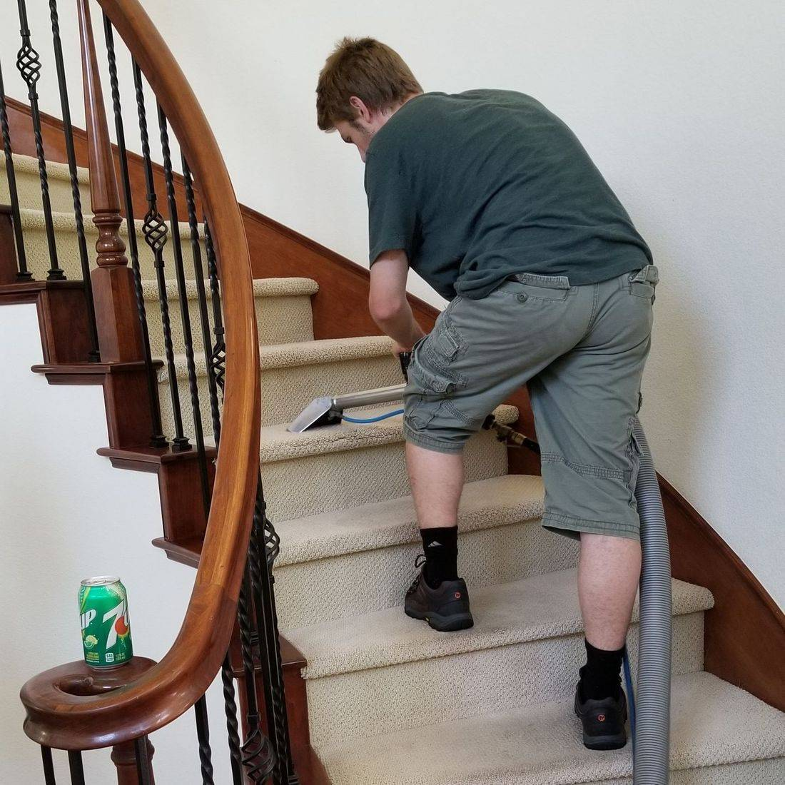 Carpet Stair Cleaning, Modesto CA