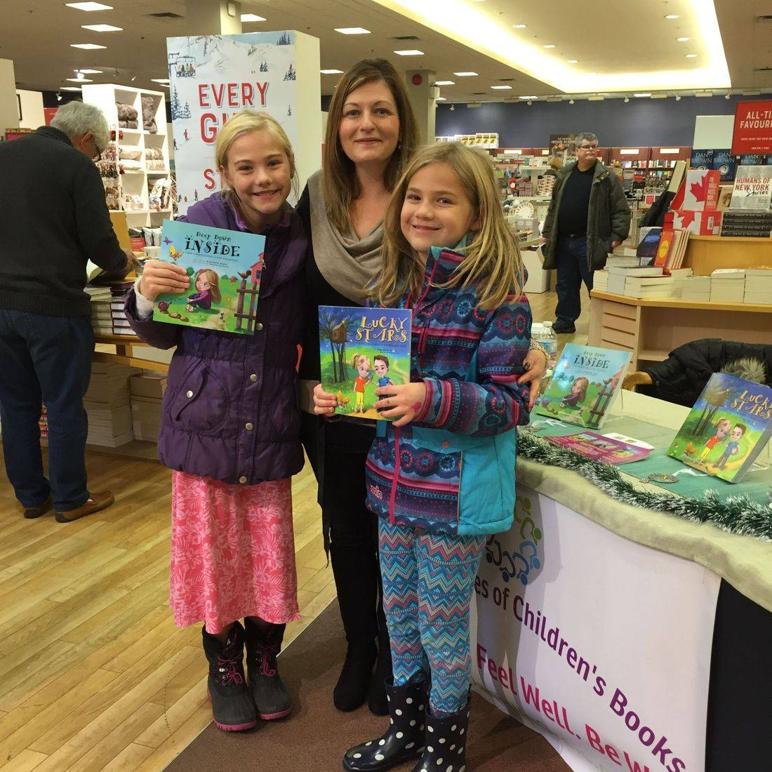 Chapters Burlington November 2017 Book Signing Event for Deep Down Inside and Lucky Stars with Author Daniella Grsic