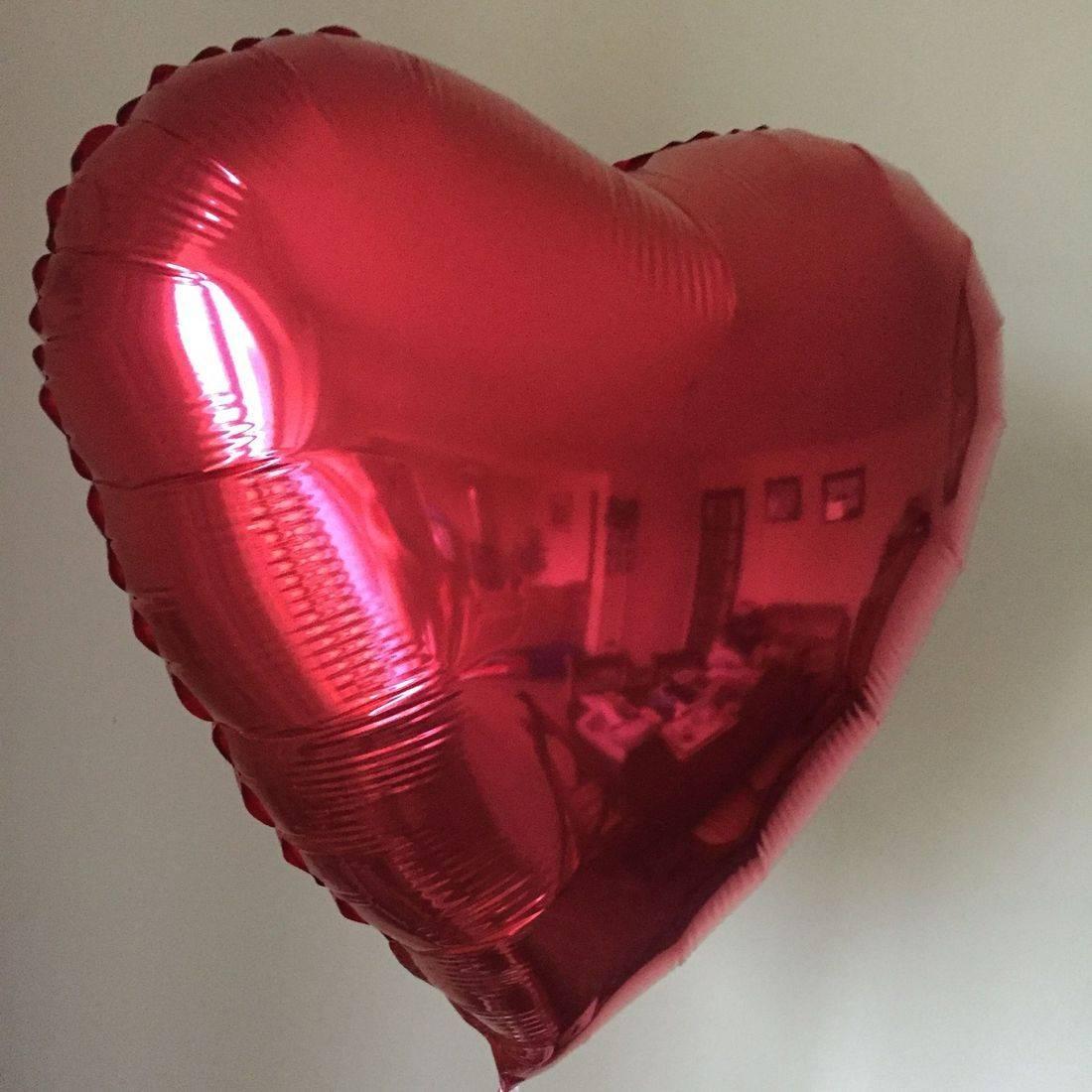Valentine foil balloon