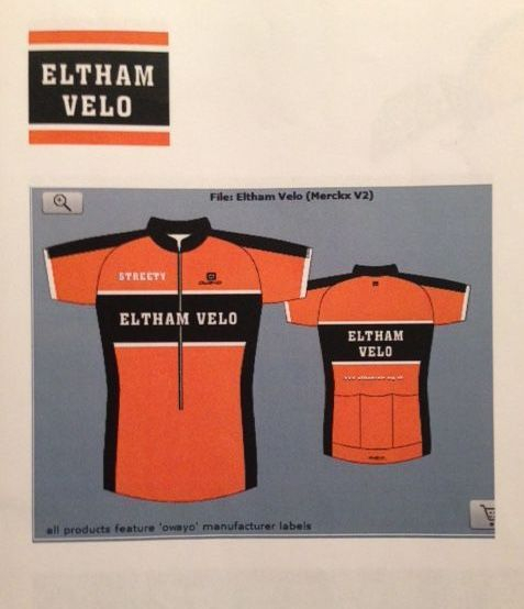 Eltham Velo Cycling Club South East London SE9 Kent