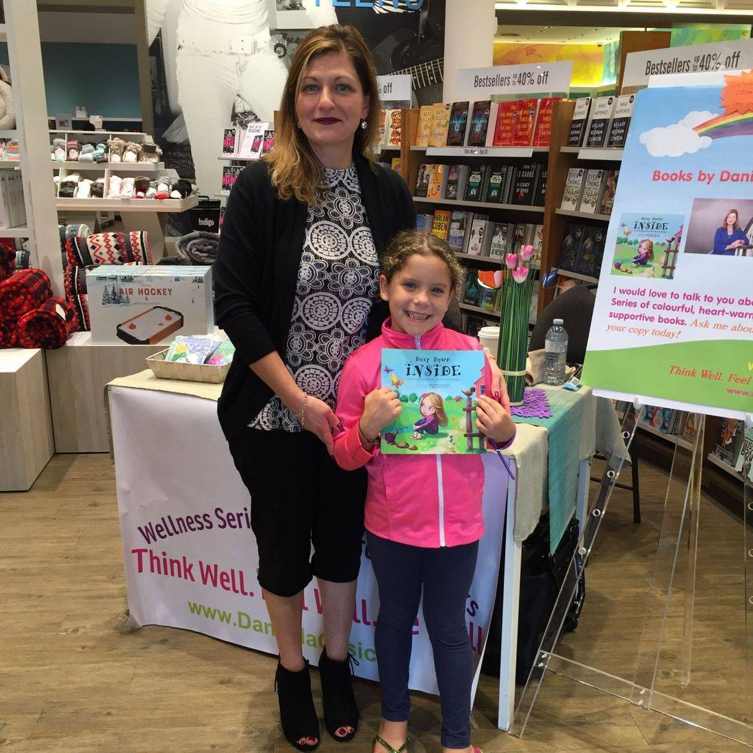 Indigo Stoney Creek October 2017 Book Signing Event for Deep Down Inside and Lucky Stars with Author Daniella Grsic