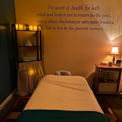 The most relaxing massage therapy rooms