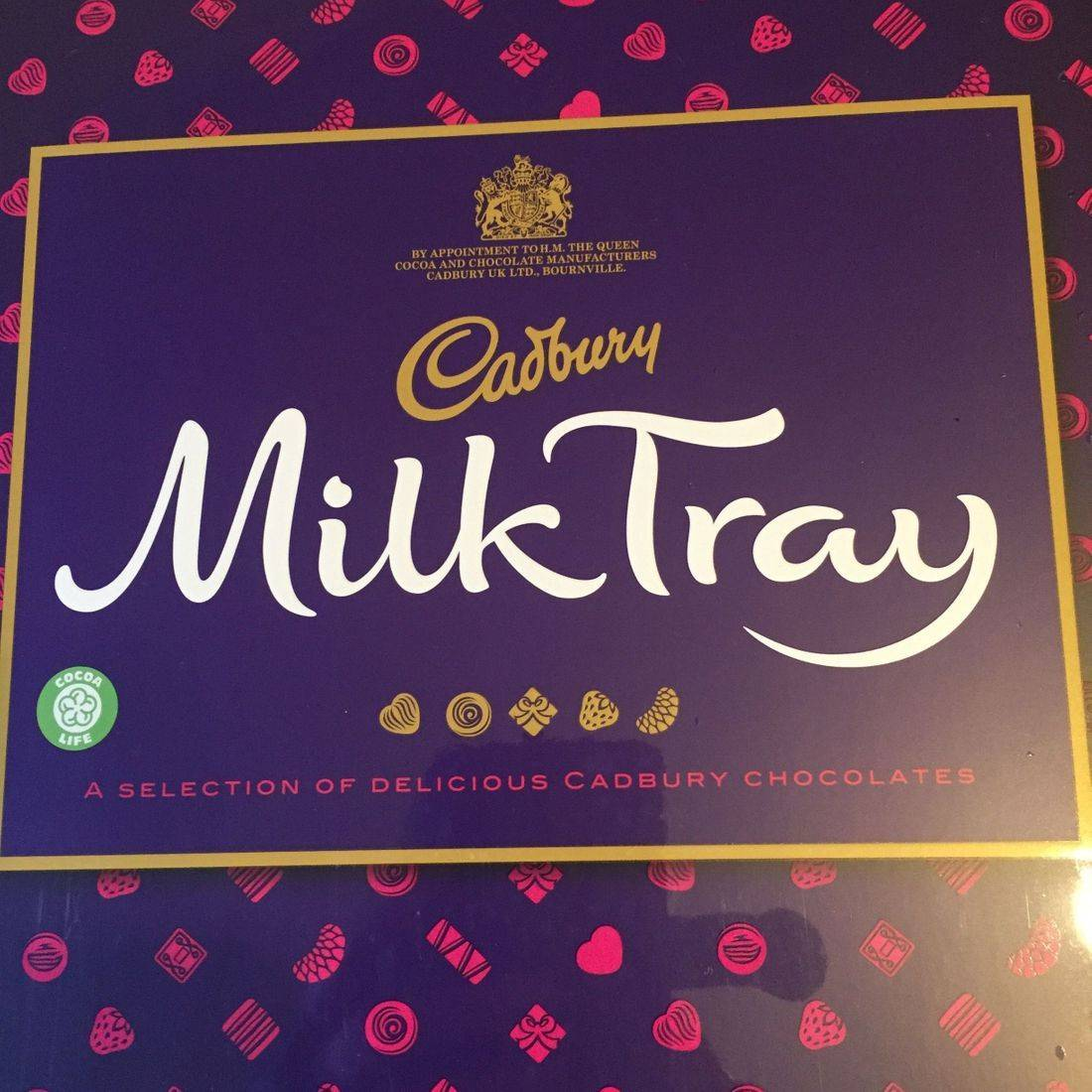 365g box of chocolates