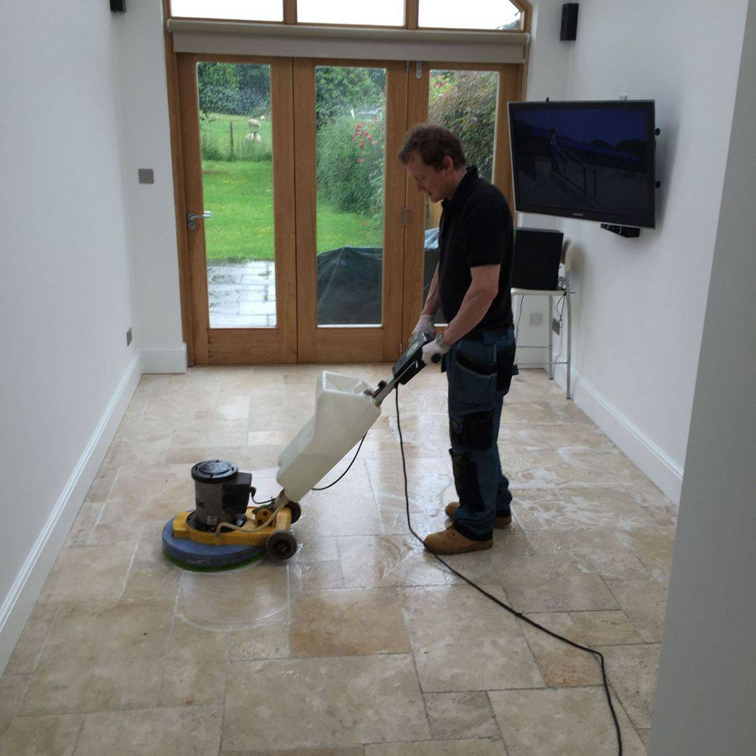 Hard Floor cleaning in Leicester and Leicestershire
