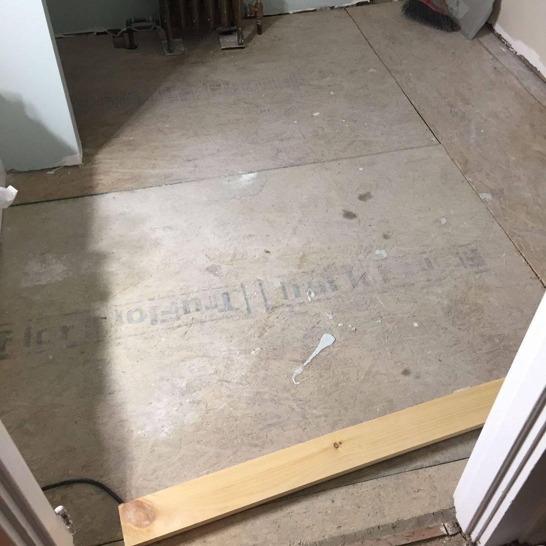 Flooring Install/Before