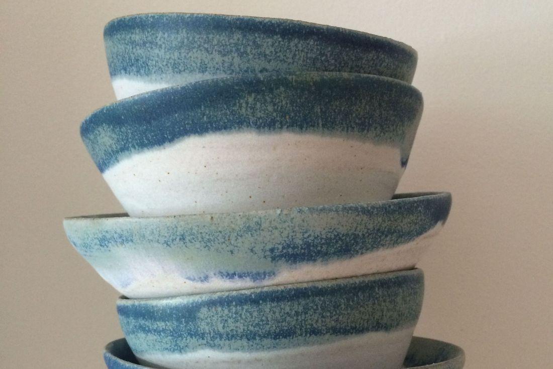 colebrookestoneandclay.com,blue,bowl,small,clay,ceramic,colebrooke,clay,stone,ingrid,johannesson,ingrid johannesson,rim,glaze,vellum,