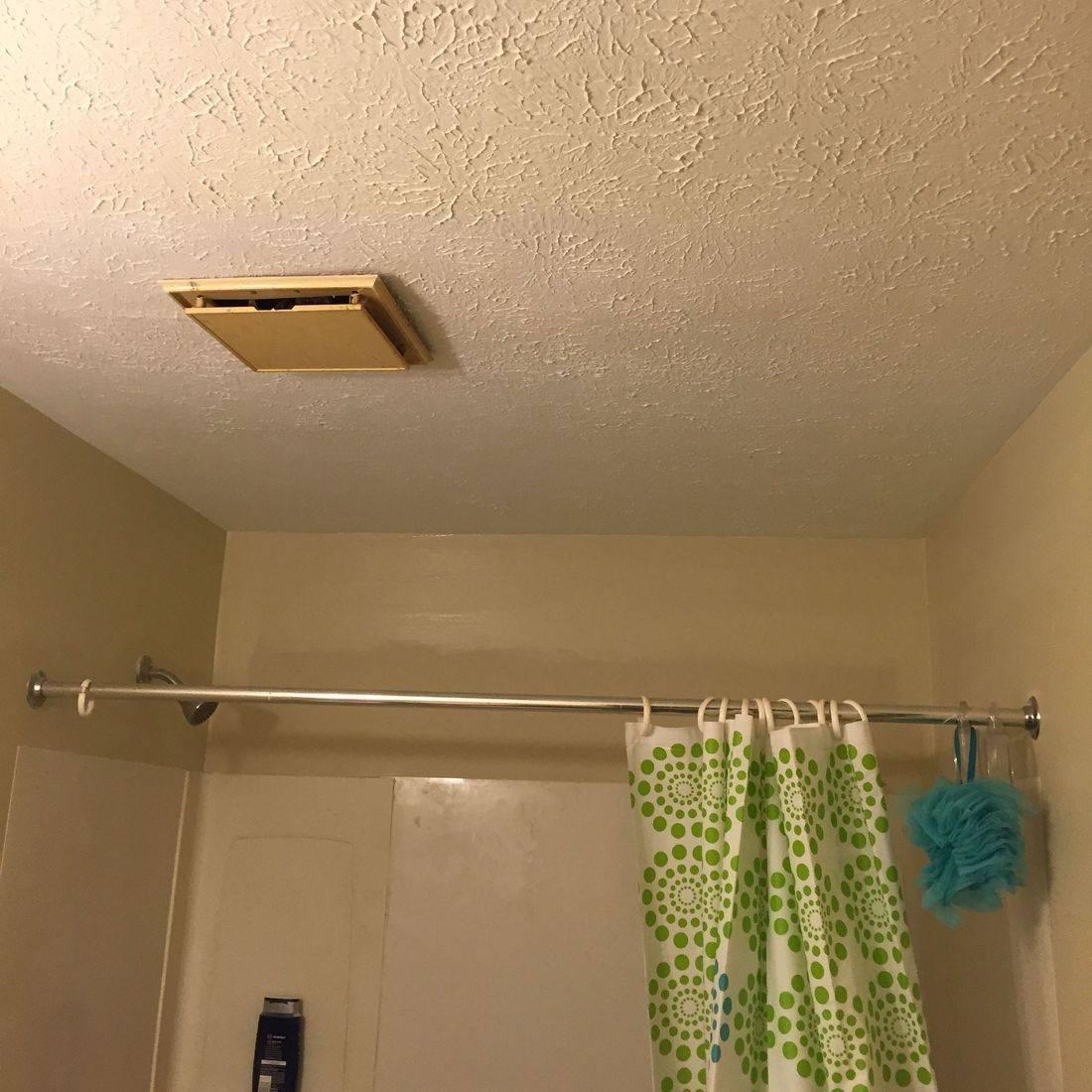 Drywall Ceiling Repair/ After