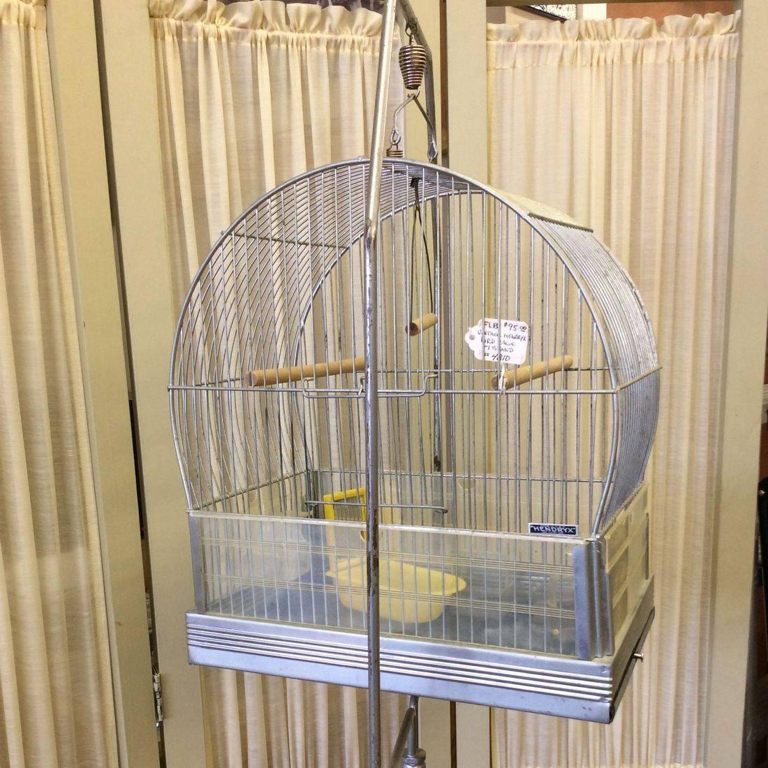 C. 1950's Hendryx Bird Cage