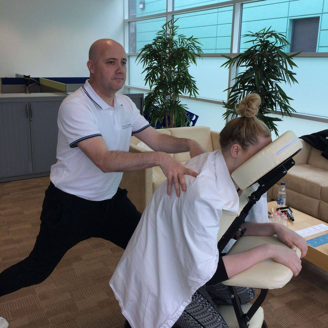 Seated Massage at work