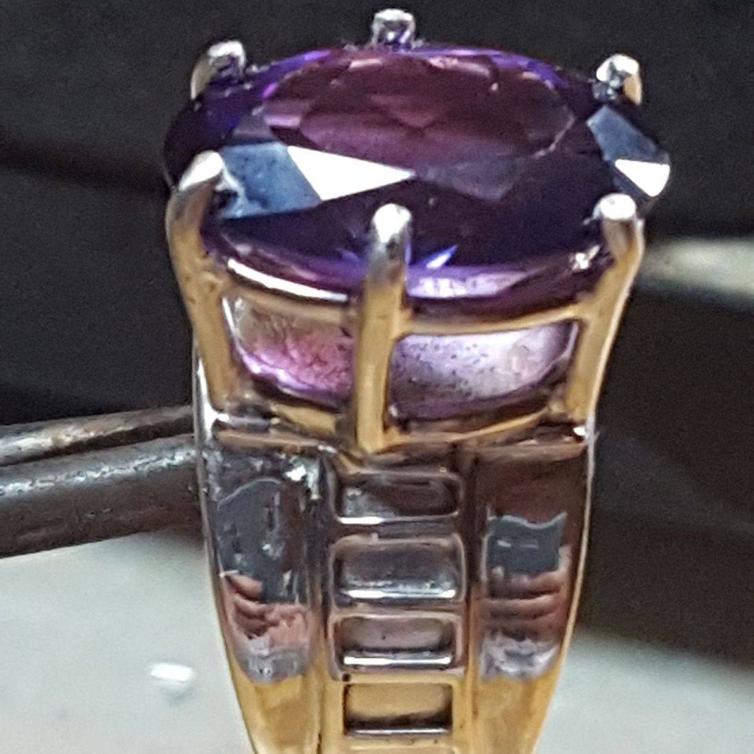 Amethyst- Custom Setting $520.00 (Sold)