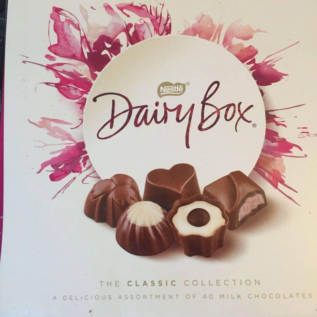 365g box of Dairy Box Chocolates