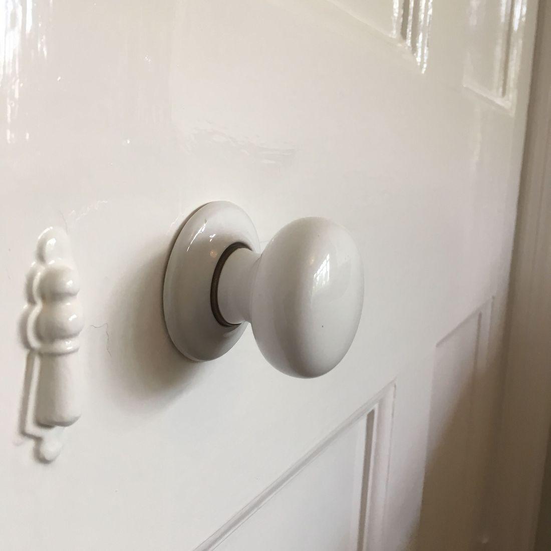 Painting Gloss Door