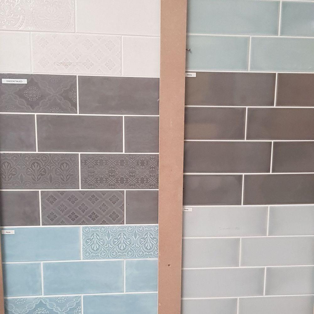 Calx & Maloica wall tiles