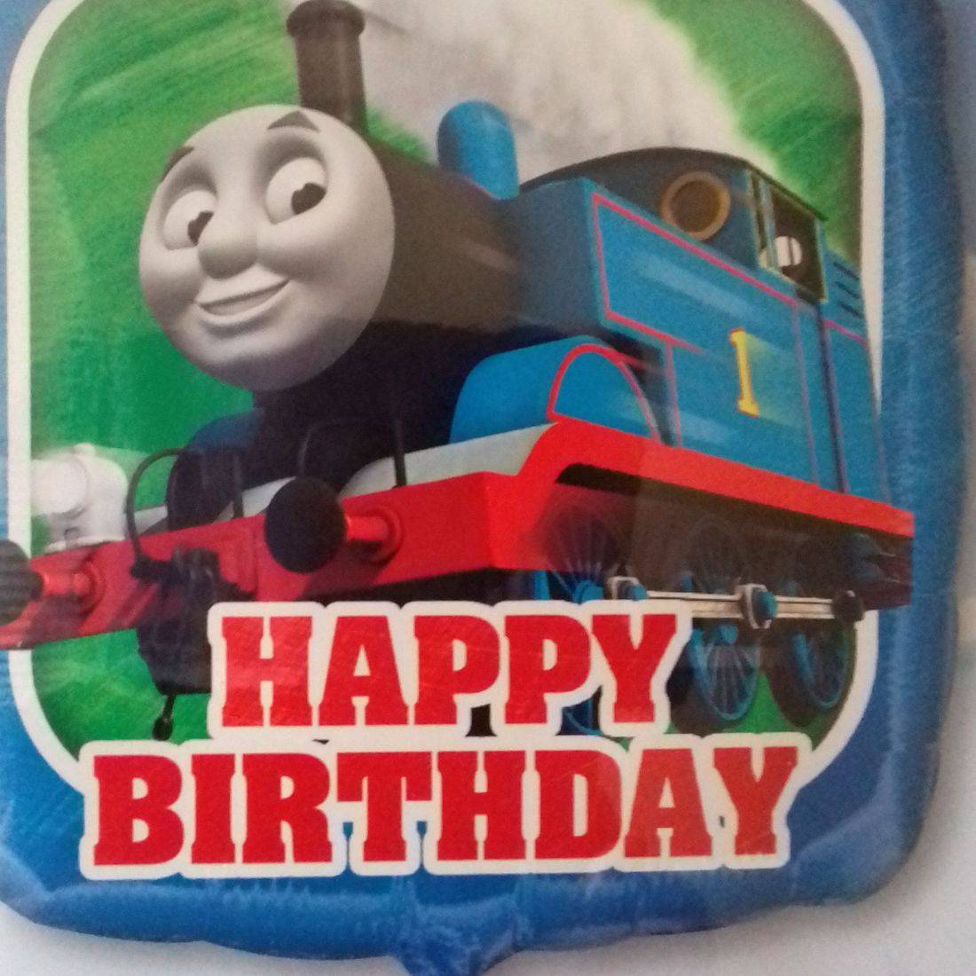 HAPPY BIRTHDAY - Thomas the Tank