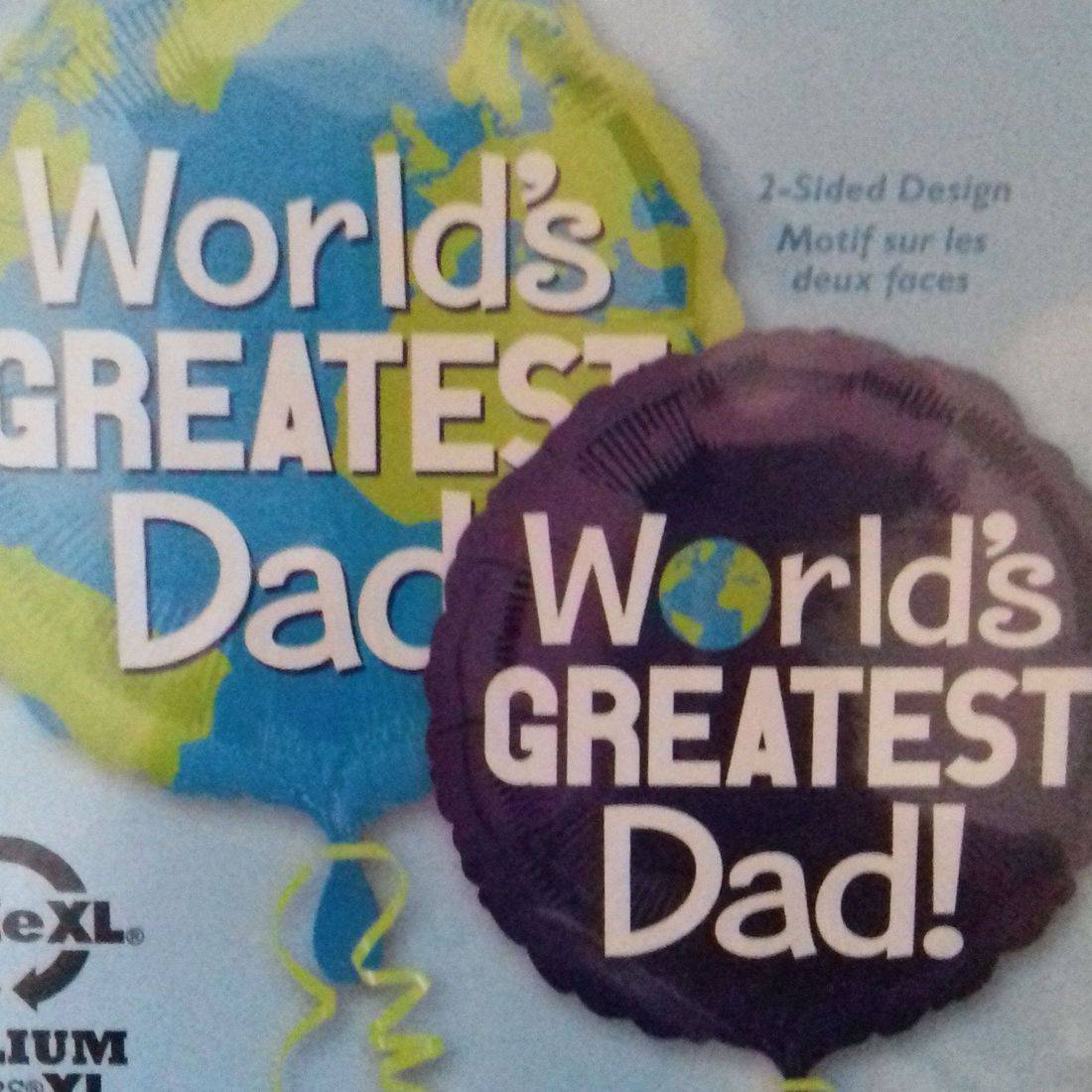 Father's Day Foil Balloon