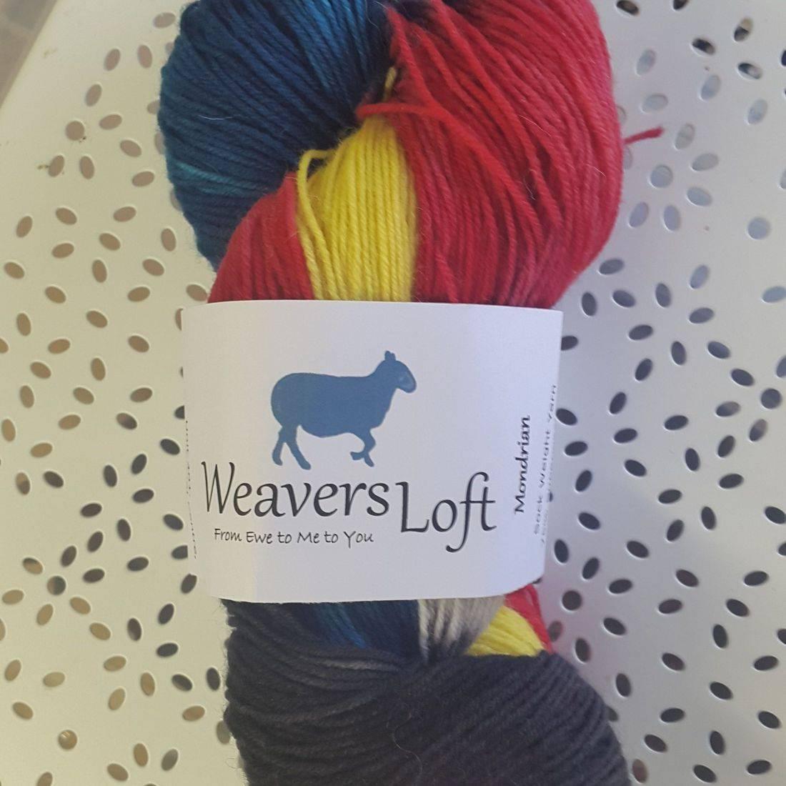 Mondrian Sock Yarn