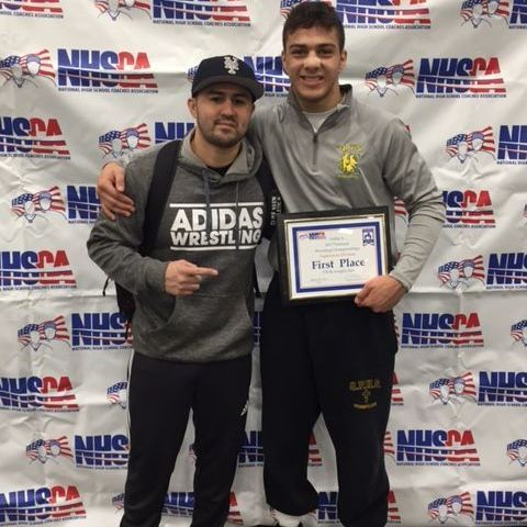 Jacob Cardenas 2017 Sophmore National Champion