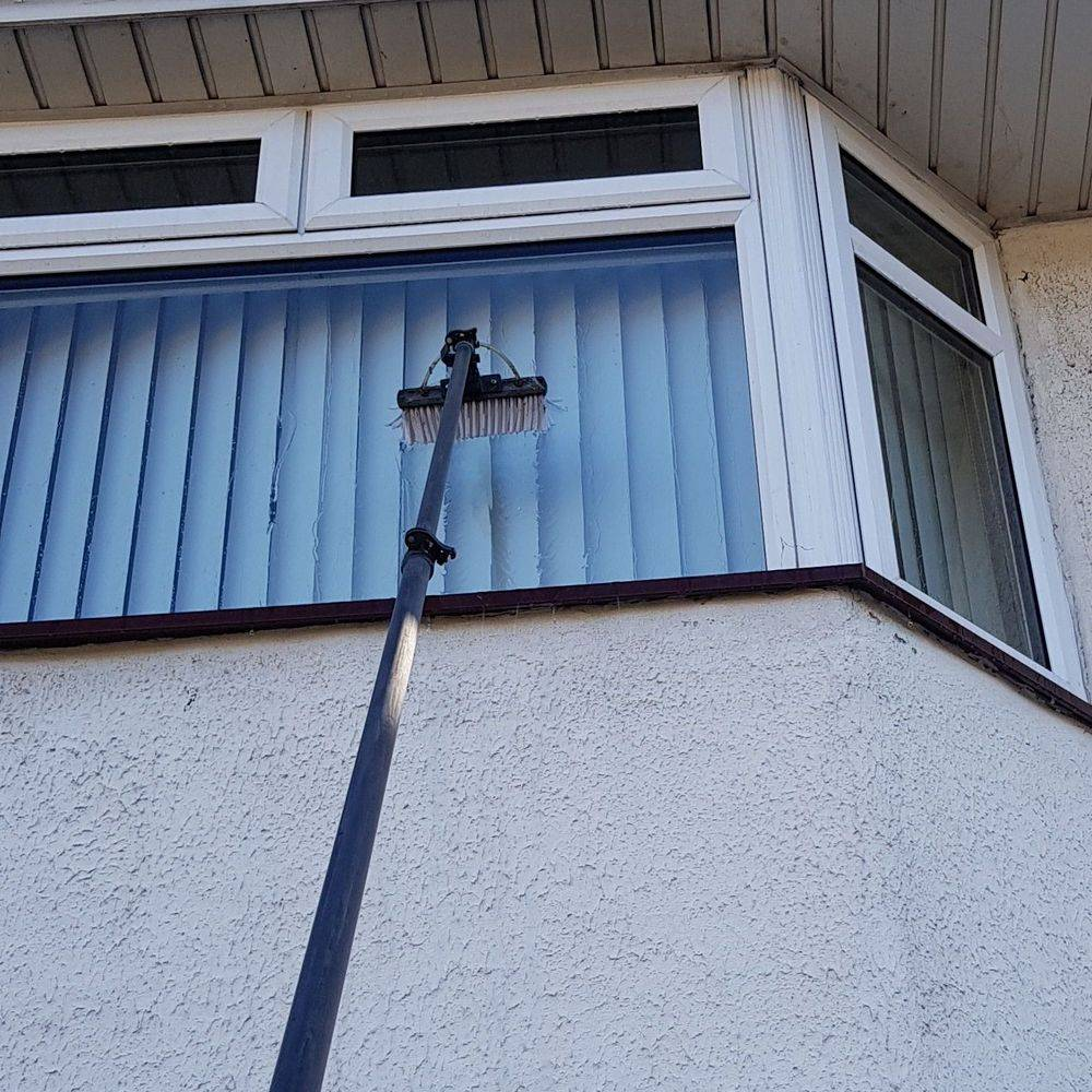 pure water window cleaning in Basingstoke