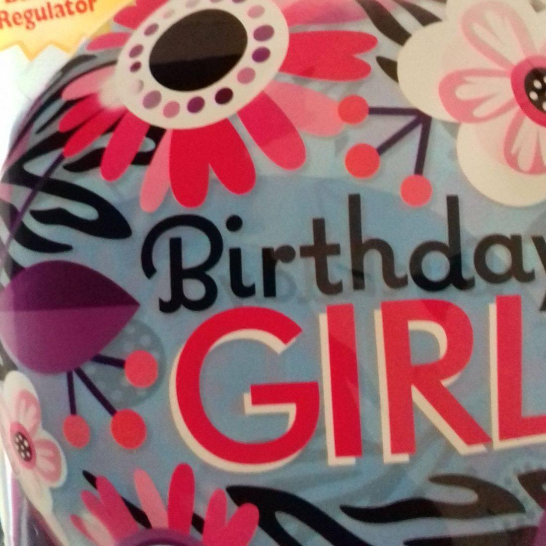 BIRTHDAY GIRL - bubble