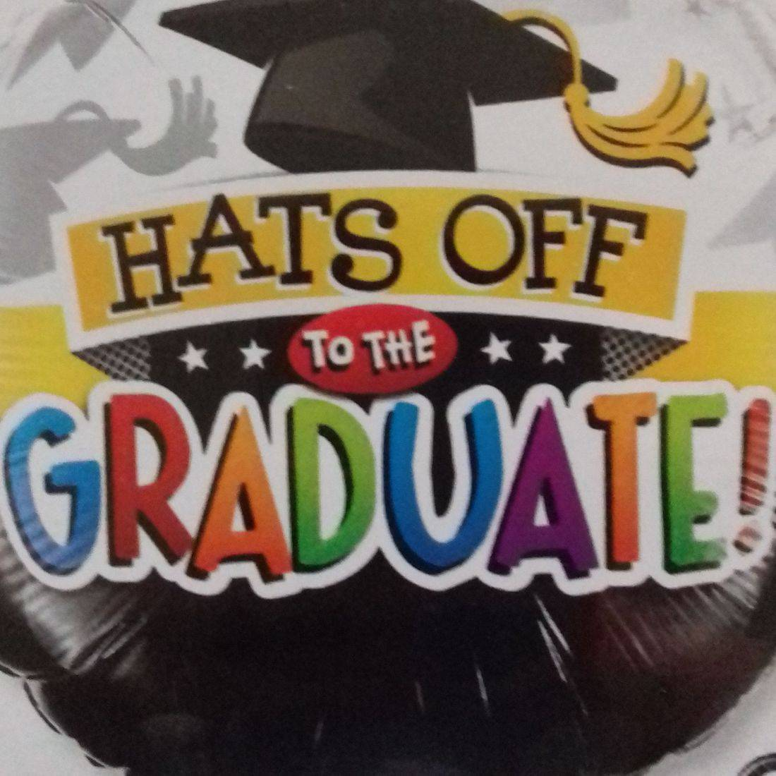 CONGRATS TO THE GRADUATE BALLOON