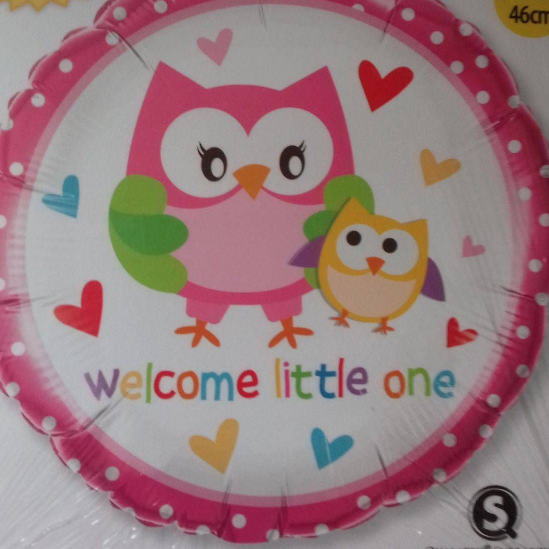 WELCOME LITTE ONE FOIL BALLOON