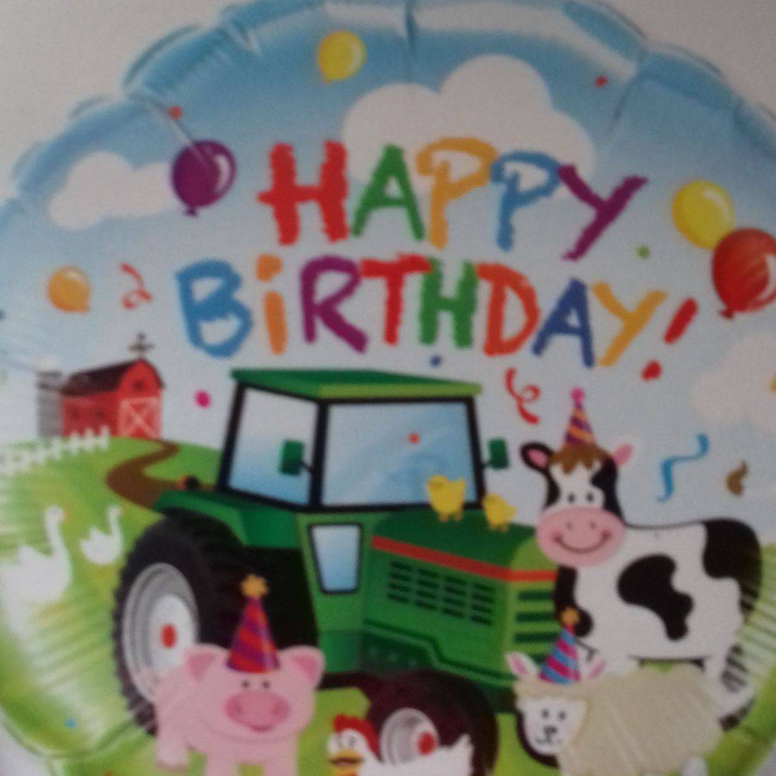 HAPPY BIRTHDAY - farmyard