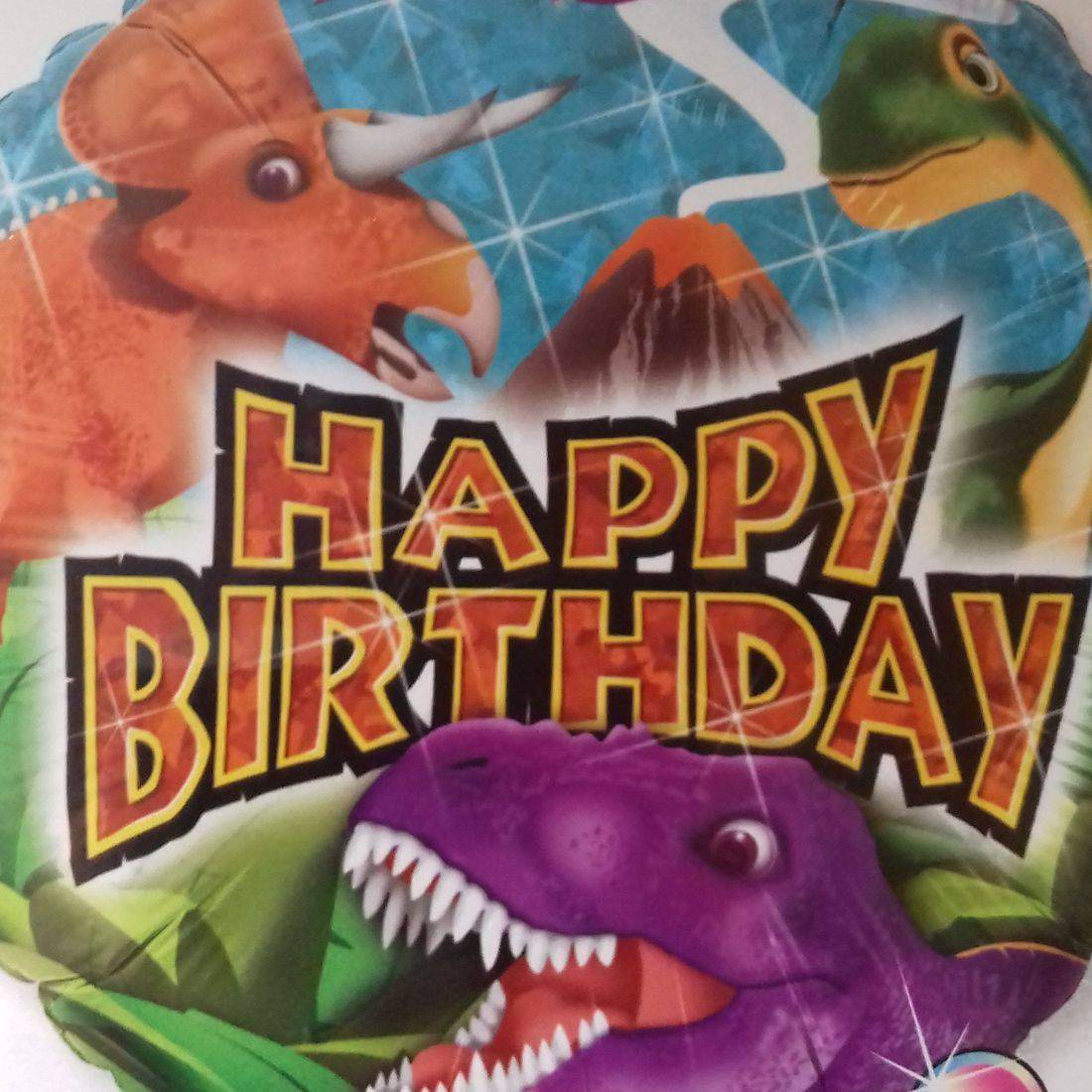 HAPPY BIRTHDAY - dinosaurs