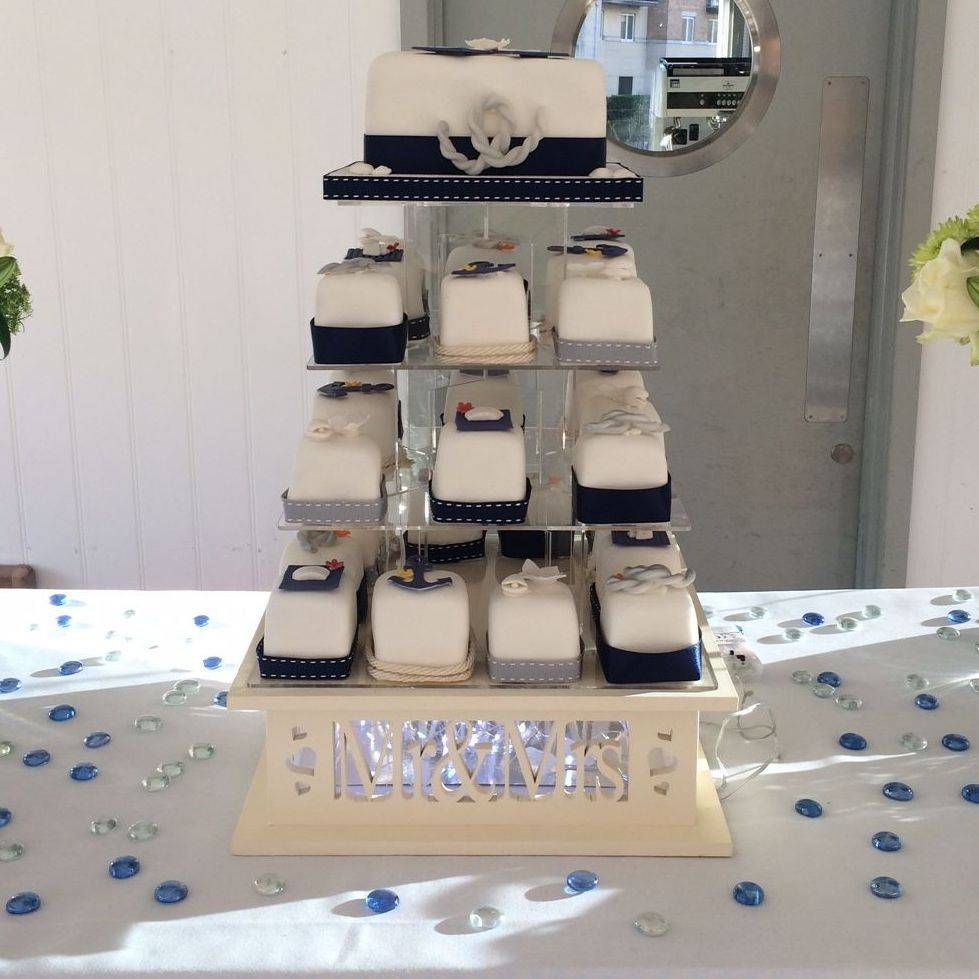 Ah-Hoy Salior  Nautical Wedding Cake  Fabu-Lous Cakes