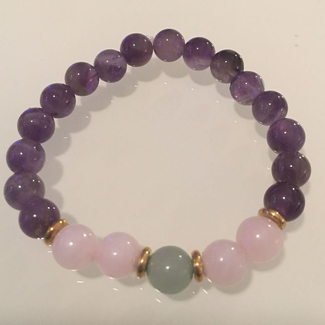Positively Stoned: Amethyst, Jade, Rose Quartz