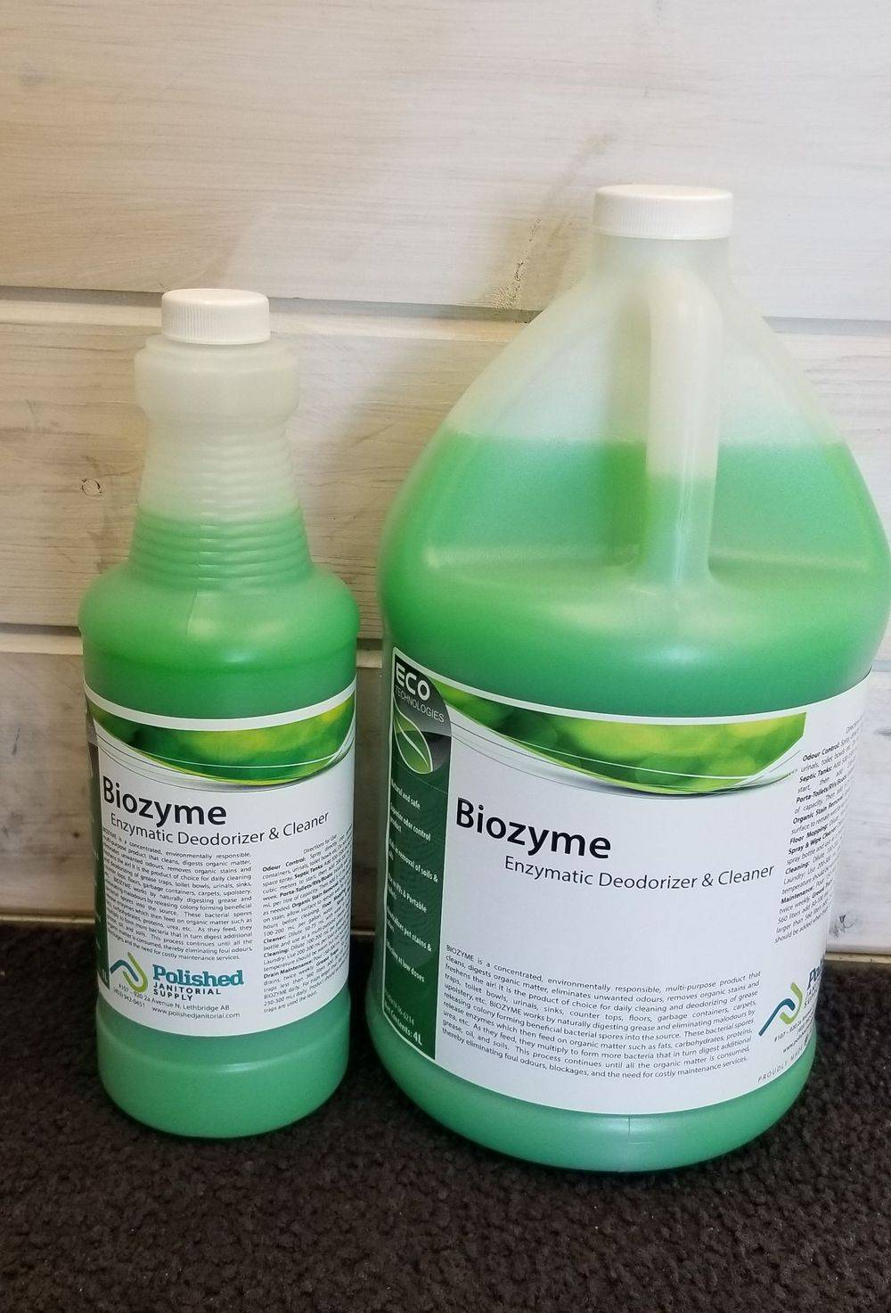 Biozyme Enzyme Cleaner Drain Maintainer Deodorizer