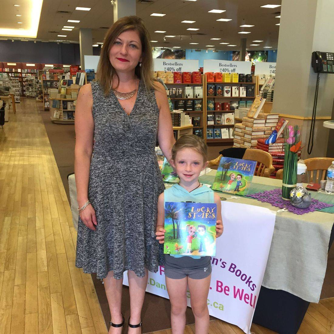 Burlington Chapters September 2017 Book Signing Event for Deep Down Inside and Lucky Stars with Author Daniella Grsic