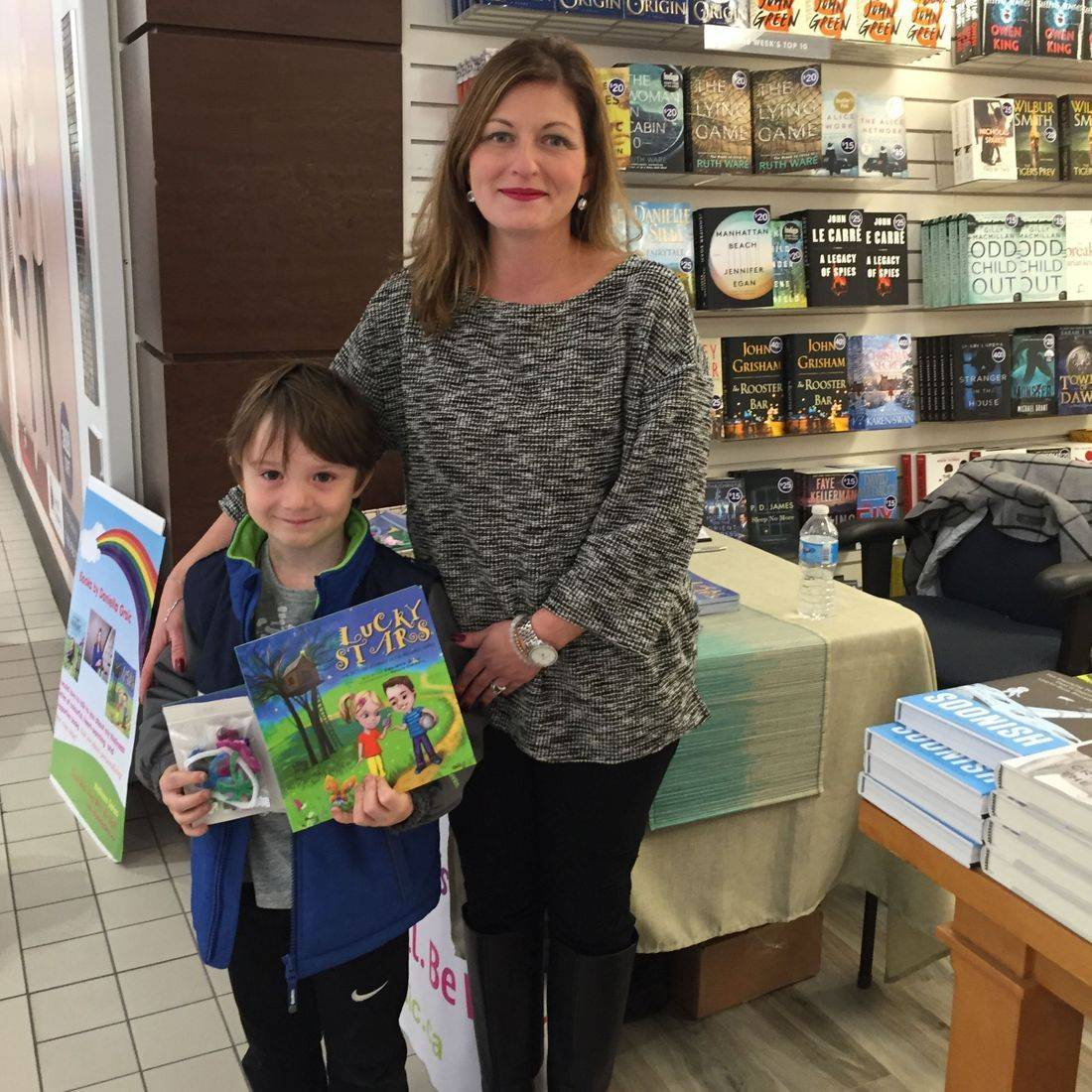 Coles Eastgate Square Hamilton October 2017 Book Signing Event for Deep Down Inside and Lucky Stars with Author Daniella Grsic