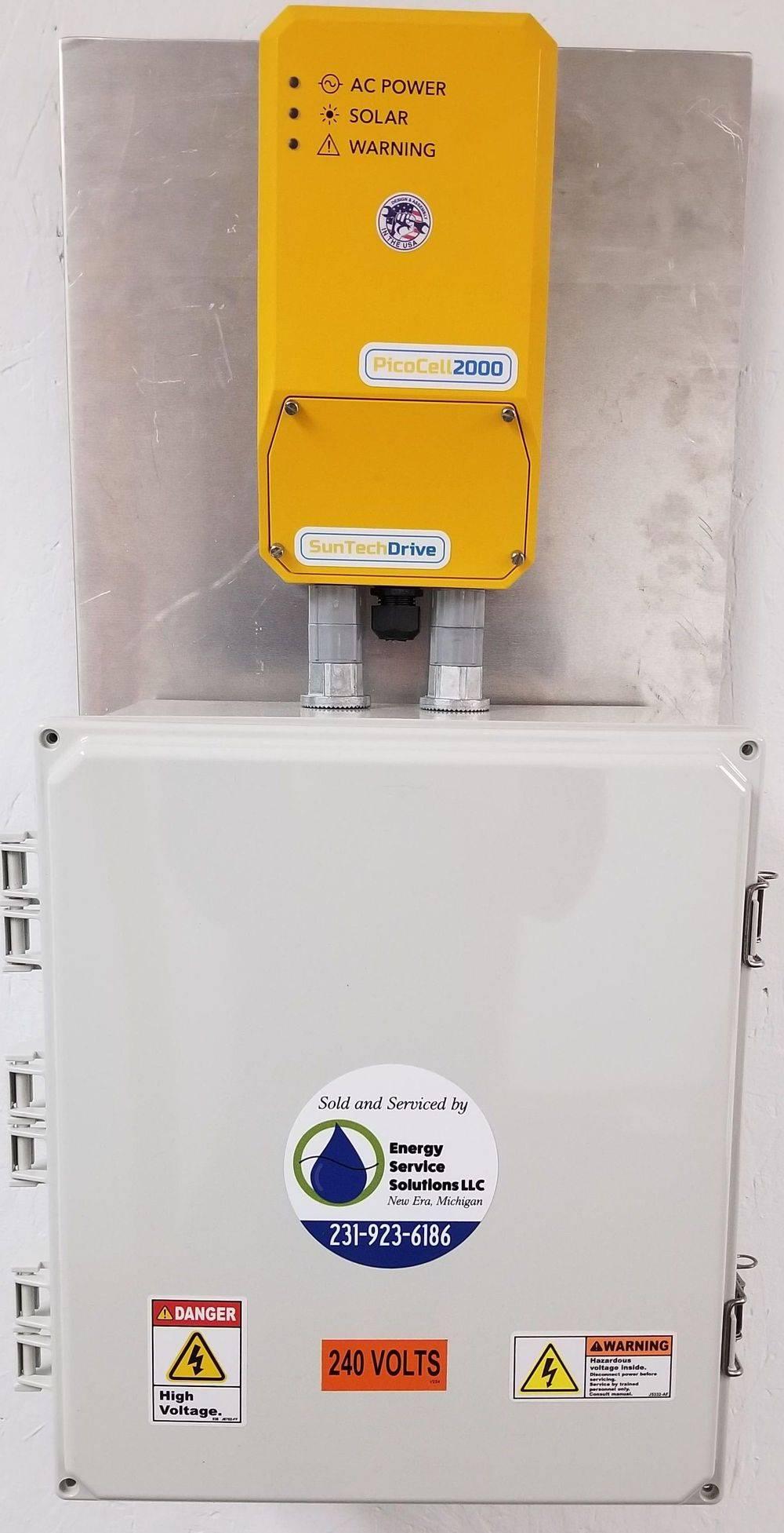 solar drainage pump