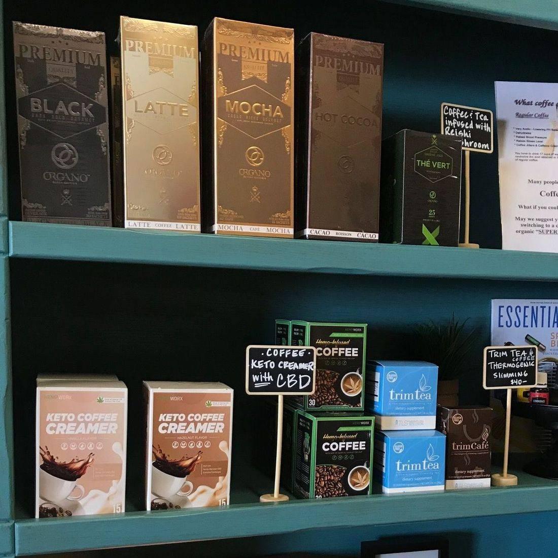 Hemp CBD Coffee & Organo Gold Coffee